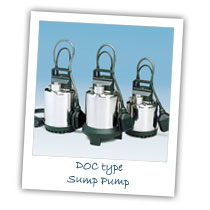 DOC type Sump Pump