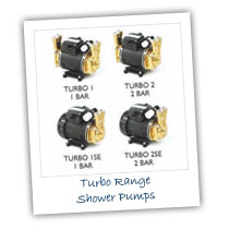Turbo Range Shower Pumps